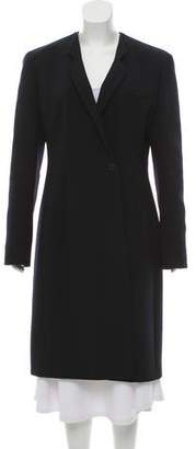 Giorgio Armani Long Wool Coat