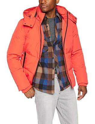 Cole Haan Men's Short Down Jacket with Hood