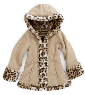 Hawke & Co Girls 2-6x Girls 2-6X Shearling Coat