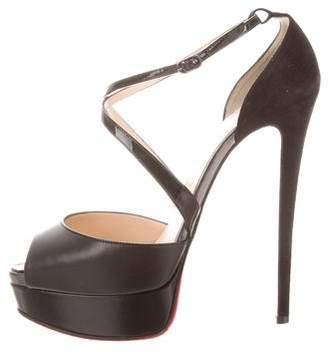 Christian Louboutin Cross Me 150 Sandals