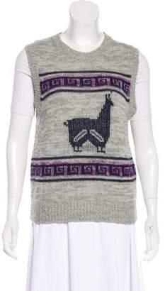 Etoile Isabel Marant Printed Knit Vest