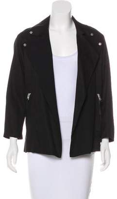 AllSaints Long Sleeve Collar Jacket