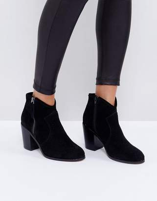 Asos Design EMMIE Suede Ankle Boots