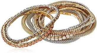 ABS by Allen Schwartz Br-Multi Stretch Bracelet