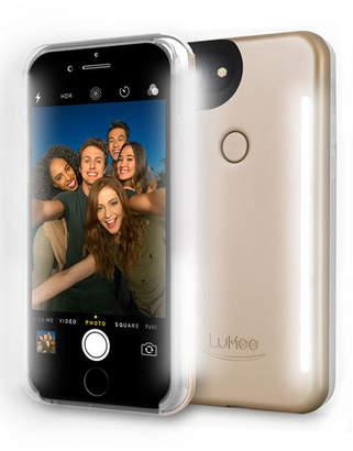 LuMee iPhone® 7 Photo-Lighting Duo Case, Matte Gold
