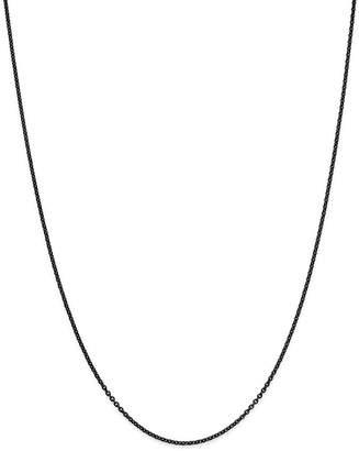 "Dodo Sterling Silver Chain, 15.7"""