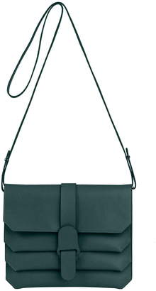 Senreve Pebbled Leather Crossbody Bag