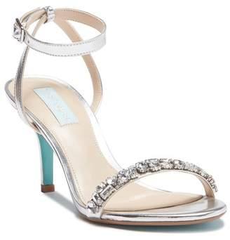 75d2aa72917d Betsey Johnson Silver Open Toe Women s Sandals - ShopStyle