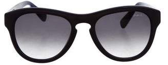 Lanvin Circular Gradient Sunglasses