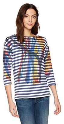 Desigual Women's Ares 3/4 Sleeve t-Shirt