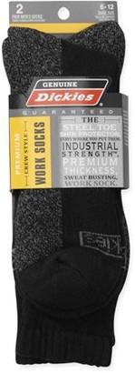 Dickies Men's Shin Crew Socks, 2-Pack