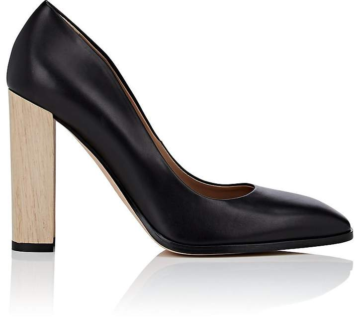Calvin Klein CALVIN KLEIN WOMEN'S ALLANA LEATHER PUMPS