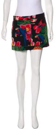 Valentino Silk Mini Shorts