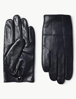 Marks and Spencer Leather Panelled Driving Gloves