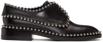 Alexander Wang Black Ball Stud Wendie Oxfords