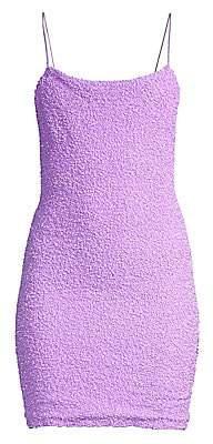 Alice + Olivia Women's Harmie Squareneck Mini Dress