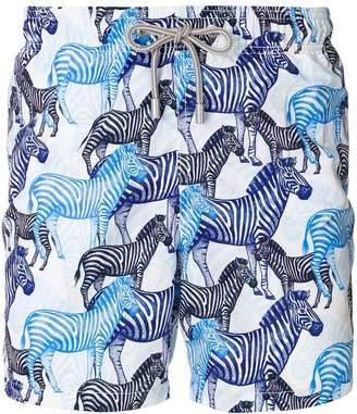 MC2 Saint Barth zebra print swim shorts