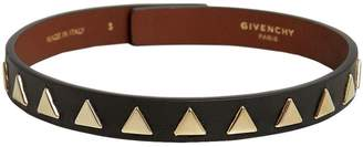 Givenchy Triangle Stud Leather Choker