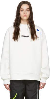 df0bb67c6615 Off-White Ader Error ADER error SSENSE Exclusive ASCC Unbalanced Yoke  Sweatshirt
