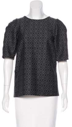Stella McCartney Patterned Wool Top