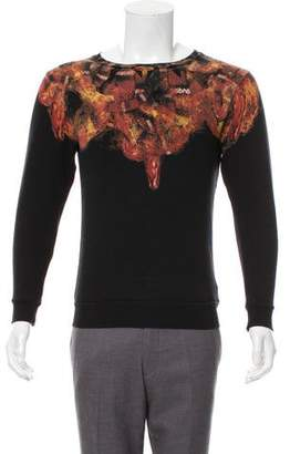 Marcelo Burlon County of Milan Printed Crew Neck Sweatshirt