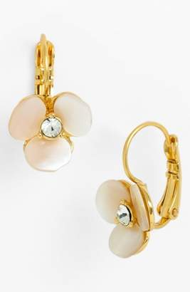Kate Spade 'disco Pansy' Drop Earrings