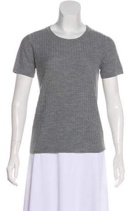 Allude Wool Short Sleeve T-Shirt