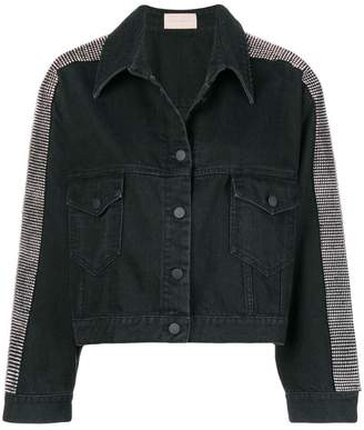 Christopher Kane crystal embellished denim jacket