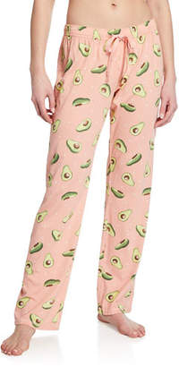 PJ Salvage Avocado Print Pajama Pants