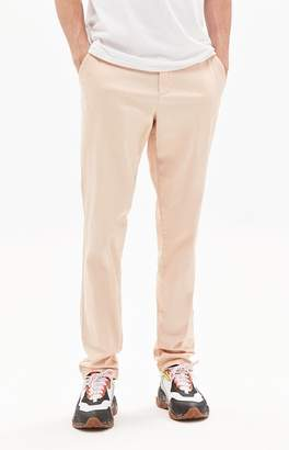 PacSun Slim Fit Basic Pink Chino Pants