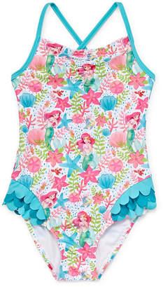 d46ec34b68550 Disney The Little Mermaid One Piece Swimsuit Girls