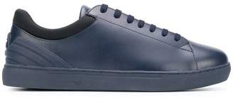 Emporio Armani Ea7 leather low-top sneakers