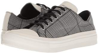 Alexander McQueen Plaid Sneaker Men's Shoes