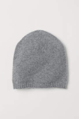 H&M Knit Cashmere Hat - Gray