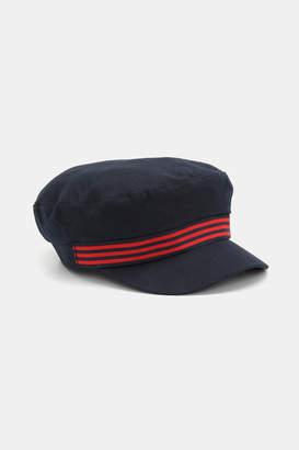 Ardene Striped Cotton Military Cap 014c06e68589