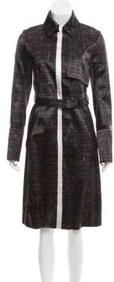 Reed Krakoff Patterned Long Coat