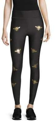 Ultra High Graphic Bee Leggings