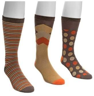 Muk Luks Men's Crew Sock Pack (3 Pair)