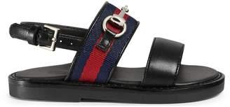 Toddler Web Horsebit sandal $360 thestylecure.com