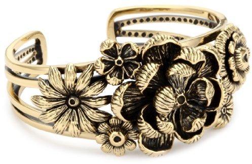 "Barse Bronzed by Blooms"" Petal Bracelet"