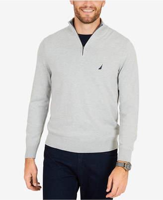 Nautica Men's Classic Fit Half-Zip Sweater