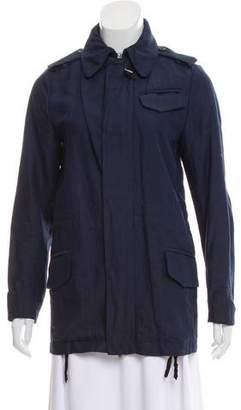 MM6 MAISON MARGIELA Hooded Zip-Up Jacket