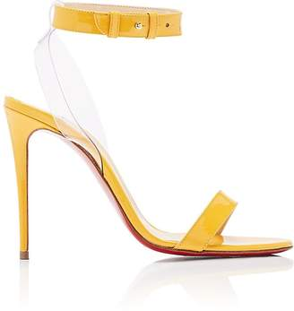 Christian Louboutin Women's Jonatina Patent Leather & PVC Sandals