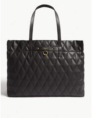 Givenchy Duo quilted faux-leather tote