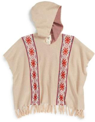 Billabong Beach Wandered Hooded Poncho (Little Girls)