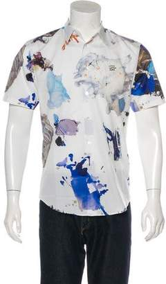 Louis Vuitton 2017 Paint Splatter Print Shirt