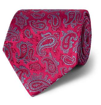 Charvet 9cm Paisley Silk-Jacquard Tie