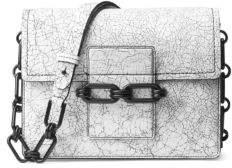 Michael Kors Cate Leather Medium Shoulder Bag
