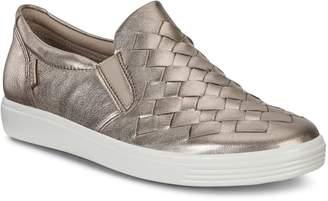Ecco ECO Soft 7 Woven Slip-On Sneaker