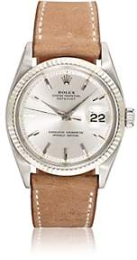 Rolex Vintage Watch Men's 1962 Oyster Perpetual Datejust Watch-Brown